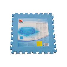 Bestway tappeto telo base componibile piscina 8 piastrelle 50 x 50 cm 2 mq 58220