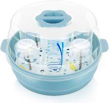 Baby Bottle Microwave Steam Steriliser - Fit 6 Baby Bottles