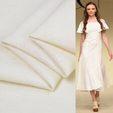 60% silk 20% cotton and 20% linen blended fabric jacquard beige and white,SFF055