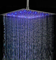 HotelSpa Giant Stainless Steel Rainfall Square Showerhead  Shower Head