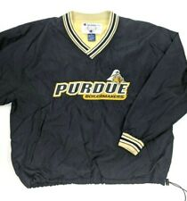 Vintage 90s Champion Purdue Boilermakers Embroidered Pullover Windbreaker XL