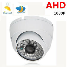 1080 AHD 2MP HD Outdoor Night Vision Wide Angle Dome Security CCTV Camera IR-CUT