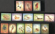 BOTSWANA SCOTT 939-952 Birds 2014 Definitive Birds Mint NH