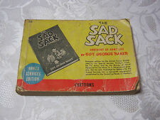 THE SAD SACK BOOK CARTOONS OF ARMY LIFE BY SGT. GEORGE BAKER      T*