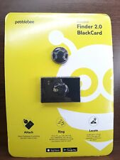 PebbleBee Finder 2.0 and BlackCard Bluetooth Trackers Finders (Brand New)