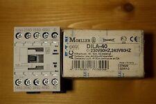 Moeller Dila - 40 230V Contactor Relé 4 N/S contactos de montaje en carril DIN