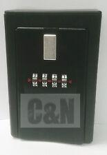 wall mount lockboxes real estate 4 digit key/card lock box storage box
