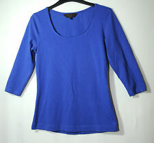 ROYAL BLUE LADIES CASUAL TOP BLOUSE SIZE S GREAT PLAINS
