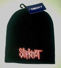 SLIPKNOT LOGO LICENSED BEANIE CAP ROCK METAL  NEW! t-shirt