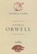 Animal Farm and 1984 by George Orwell (English) Hardcover Book