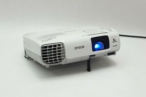Epson PowerLite 98H XGA 3000 Lumens 3LCD HDMI Projector H687A 2371Hr