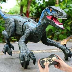 Remote Control T-Rex Dinosaur Simulation Model RC Toy With Walking Roaring Gifts