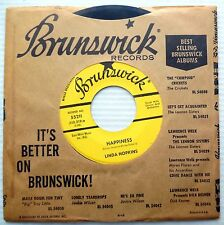 LINDA HOPKINS soul R&B promo HAPPINESS I DON'T KNOW YOU ANYMORE Strong VG+ F1417