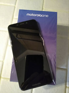 Motorola One.  Black, Unlocked, Dual Sim