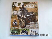 QUAD PASSION MAGAZINE N°145 07/2012 ARTIC CAT 550 HI TRITON BAJA 250R   I27
