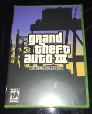 Grand Theft Auto III 3 (The Xbox Collection) -Over 50 Interactive Vehicles! NEW