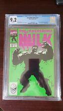 Incredible hulk 377 cgc 9.2 1st Appearance of Professor Hulk