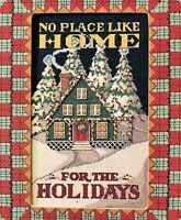 ✔️ Cross Stitch No Place Like Home for the Holidays Chart Design + BONUS Pieces