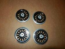 LIONEL Style Steam Engine Drive Wheels,  Black, Tinplate, Standard Gauge, Repro