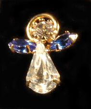 Crystal Birthstone Angel - Birthday Angel Pin