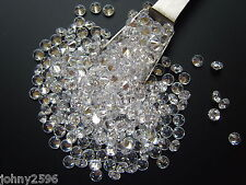 5x4.5mm clear cubic zirconia loose gemstones £1.10p