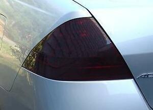 PRECUT VINYL TINT SMOKE OVERLAYS FOR 06-07 ACCORD SEDAN TAIL LIGHT