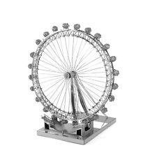 Fascinations ICONX 3DSteel Model Kit U.K. London Eye Ferris Wheel Cool Model