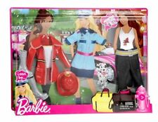 Barbie I Can Be Heroes Fashion Pack ~ Outfits for Police Officer & Firefighter