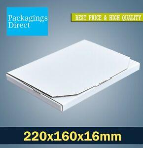Mailing Box 220 x 160 x 16mm A5 C5 Size Flat Mailer 02 Rigid Box