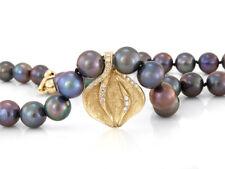 Wunderschöne Perlenkette mit Anhänger , 48,5cm