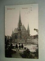 Ansichtskarte Altenburg S.-A. Brüderkirche 1916 (I)