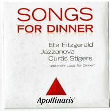 SONGS FOR DINNER - Ella Fitzgerald, Jazzanova, Curtis Stigers und mehr..