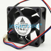 For DELTA AFB0624EH server cooling fan DC24V 0.36A 60*60*25mm 3pin