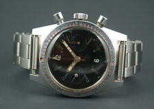 Rare Le Cheminant Master Mariner Chronograph Fly-Back blacked out Valjoux 92.