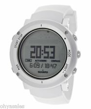 Suunto Core Alu Pure White Digital Silicone Multi Quartz Men's Watch SS018735000