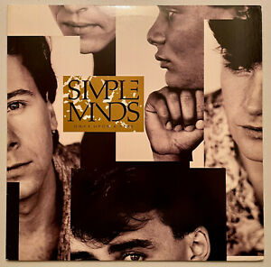 Simple Minds–Once Upon A Time-1985 A&M Record SP5092 Translucent Ludwig, Indy P