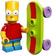 Lego 71005 Minifigures serie Simpson Bart Simpson con skateboard Nuovo