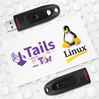 TAILS OS V.4.4 Live USB - Securely Browse Internet with Tor - Access Darknet