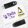 TAILS OS V.4.12 Live USB - Securely Browse Internet with Tor - Access Darknet