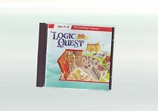 LOGIC QUEST : 3-D ADVENTURE - KIDS CHILDS EDUCATIONAL PC GAME - FAST POST