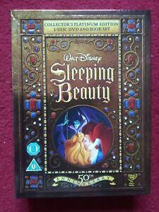 Sleeping Beauty Disney Platinum edition 2 x DVD and Book set
