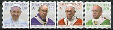 More details for vatican city 2019 mnh pope francis 4v set famous people popes stamps
