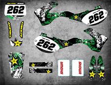 Full Custom Graphic Kit Kawasaki KX 250 - 1999 2000 2001 2002 GRAFFITI STYLE