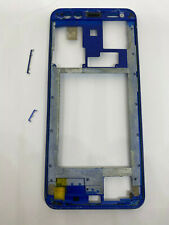 Chassis intermediaire / Middle Frame Pour Leagoo S8 Bleu + bouton power