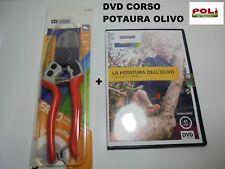 FORBICE DA POTATURA STOCKER ERGO LIGHT 21 + DVD CORSO COMPLETO POTATURA ULIVO