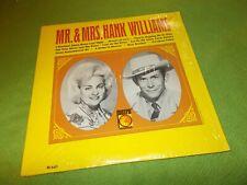 MR & MRS HANK WILLIAMS LP Rare Country (VG++) 1966 Metro