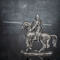 1410. Battle of Agincourt. French knight De Cracks. 6010Az. 54mm. 132