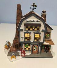 Dept. 56 Platt's Candles & Wax - New England Village #56.56614 New In Box 1999
