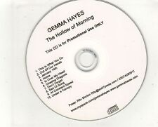 (GV275) Gemma Hayes, The Hollow Of Morning - DJ CD