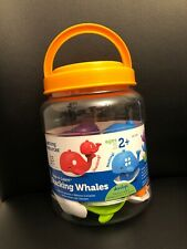 Learning Resources Snap-n-learn Stacking Whales 6709